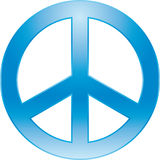 σύμβολο ειρήνης Στοκ Φωτογραφίες