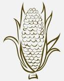 Σύμβολο καλαμποκιού διανυσματική απεικόνιση