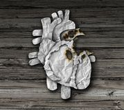 Σύμβολο καρδιακών παθήσεων απεικόνιση αποθεμάτων