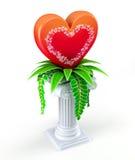 σύμβολο καρδιών έννοιας Στοκ Εικόνες