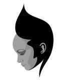 σύμβολο κοριτσιών μόδας π&r διανυσματική απεικόνιση