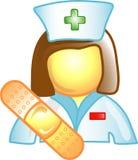 σύμβολο νοσοκόμων εικο& Στοκ φωτογραφία με δικαίωμα ελεύθερης χρήσης