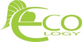 σύμβολο οικολογίας Διανυσματική απεικόνιση