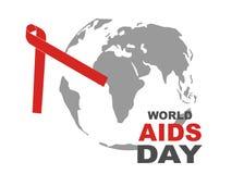 Σύμβολο Παγκόσμιας Ημέρας κατά του AIDS 1 Δεκεμβρίου Παγκόσμια Ημέρα κατά του AIDS Συνειδητοποίηση ενισχύσεων κόκκινη κορδέλλα ,  στοκ φωτογραφία με δικαίωμα ελεύθερης χρήσης