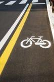 σύμβολο ποδηλάτων Στοκ εικόνα με δικαίωμα ελεύθερης χρήσης