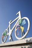 σύμβολο ποδηλάτων στοκ φωτογραφίες με δικαίωμα ελεύθερης χρήσης