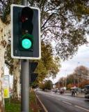 σύμβολο πράσινου φωτός βελών αερολιμένων Στοκ εικόνα με δικαίωμα ελεύθερης χρήσης