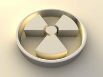 σύμβολο ραδιενέργειας Στοκ Φωτογραφία