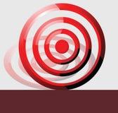 σύμβολο στόχου Στοκ εικόνες με δικαίωμα ελεύθερης χρήσης