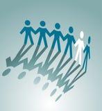 σύμβολο συνεργασίας Στοκ φωτογραφία με δικαίωμα ελεύθερης χρήσης