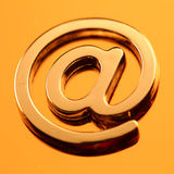 σύμβολο ταχυδρομείου &epsi στοκ φωτογραφίες