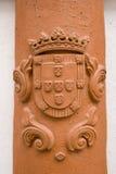 σύμβολο της Πορτογαλία&sig Στοκ φωτογραφία με δικαίωμα ελεύθερης χρήσης