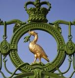 σύμβολο του Λίβερπουλ συκωτιού της Αγγλίας πουλιών Στοκ Φωτογραφίες