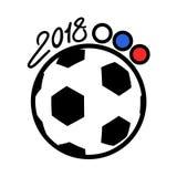 Σύμβολο φλυτζανιών ποδοσφαίρου Στοκ Εικόνες
