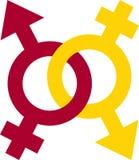 Σύμβολο φύλων Στοκ Φωτογραφίες