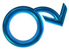 σύμβολο φύλων Στοκ εικόνες με δικαίωμα ελεύθερης χρήσης