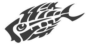 Σύμβολο ψαριών σκελετών ελεύθερη απεικόνιση δικαιώματος