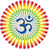 σύμβολο ωμ καλλιγραφία&sigm Στοκ φωτογραφία με δικαίωμα ελεύθερης χρήσης