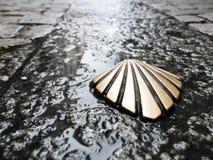 σύμβολο camino de Σαντιάγο Στοκ Εικόνες