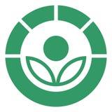 σύμβολο radura Στοκ φωτογραφία με δικαίωμα ελεύθερης χρήσης