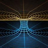 Σύμβολο Wireframe (wormhole) Στοκ Εικόνα