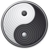 σύμβολο yang yin Στοκ Εικόνα