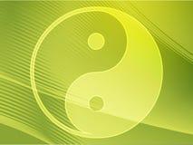σύμβολο yang yin Στοκ εικόνες με δικαίωμα ελεύθερης χρήσης