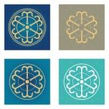 Σύμβολα από τις άγκυρες Στοκ φωτογραφία με δικαίωμα ελεύθερης χρήσης