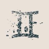 Σύμβολα αστρολογίας Σημάδι διδύμων Στοκ εικόνα με δικαίωμα ελεύθερης χρήσης