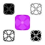 Σύμβολα διαμαντιών Στοκ Φωτογραφίες