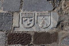 Σύμβολα ιπποτών Στοκ φωτογραφία με δικαίωμα ελεύθερης χρήσης