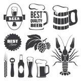 Σύμβολα μπύρας Στοκ φωτογραφίες με δικαίωμα ελεύθερης χρήσης