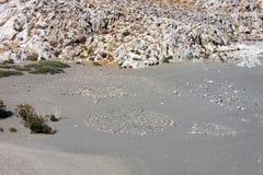 Σύμβολα πετρών στην παραλία Στοκ φωτογραφία με δικαίωμα ελεύθερης χρήσης