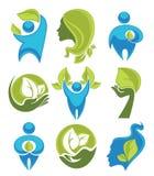 Σύμβολα Eco Στοκ φωτογραφία με δικαίωμα ελεύθερης χρήσης