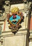 Σύμβολο ήλιων Palacio de Aguas Corrientes στο Μπουένος Άιρες Στοκ φωτογραφία με δικαίωμα ελεύθερης χρήσης