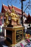 σύμβολο αγαλμάτων hinduism brahma Στοκ Εικόνες