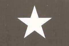 Σύμβολο αστεριών σε ένα στρατιωτικό όχημα των πολεμικών ΗΠΑ του Βιετνάμ Στοκ Εικόνα