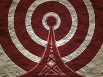 Σύμβολο ασύρματων δικτύων WI Fi Στοκ εικόνες με δικαίωμα ελεύθερης χρήσης