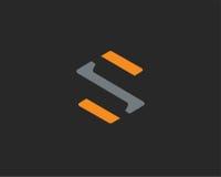 Σύμβολο αλφάβητου εικονιδίων γραμμάτων S Στοκ εικόνα με δικαίωμα ελεύθερης χρήσης