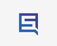 Σύμβολο αλφάβητου εικονιδίων γραμμάτων S Στοκ Φωτογραφίες