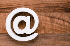 Σύμβολο Διαδικτύου εικονιδίων ηλεκτρονικού ταχυδρομείου Στοκ Εικόνες
