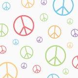 Σύμβολο ειρήνης στο άσπρο υπόβαθρο Στοκ φωτογραφία με δικαίωμα ελεύθερης χρήσης