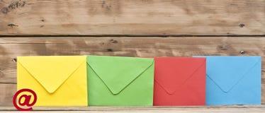 Σύμβολο ηλεκτρονικού ταχυδρομείου Στοκ φωτογραφία με δικαίωμα ελεύθερης χρήσης