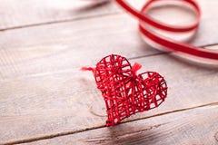 Σύμβολο καρδιών της αγάπης Στοκ Φωτογραφία