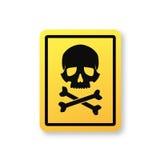 σύμβολο κρανίων σημαδιών κ Στοκ φωτογραφίες με δικαίωμα ελεύθερης χρήσης