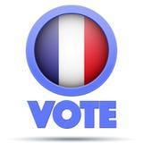 Σύμβολο κύκλων της εκλογής 2017 στη Γαλλία απεικόνιση αποθεμάτων