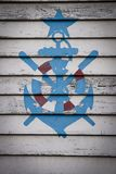 Σύμβολο ναυτικών στοκ φωτογραφία με δικαίωμα ελεύθερης χρήσης