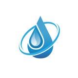 Σύμβολο νερού, πετρελαίου και φυσικού αερίου Στοκ φωτογραφίες με δικαίωμα ελεύθερης χρήσης