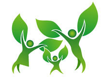 Σύμβολο οικογενειακών δέντρων Στοκ φωτογραφία με δικαίωμα ελεύθερης χρήσης