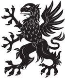 Σύμβολο οικοσημολογίας του Griffin Στοκ Φωτογραφίες